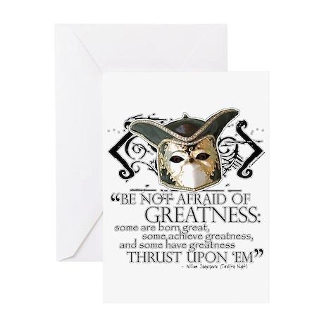 Twelfth Night 2 Greeting Card