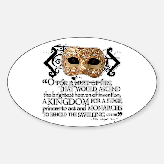 Henry V Oval Decal
