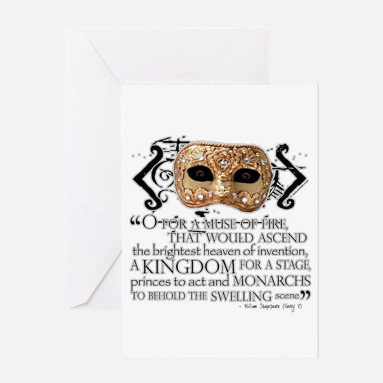 Henry V Greeting Card