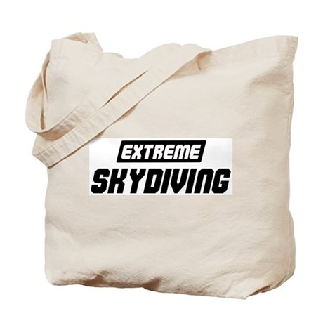 Extreme Skydiving Tote Bag