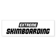 Extreme Skimboarding Bumper Bumper Sticker