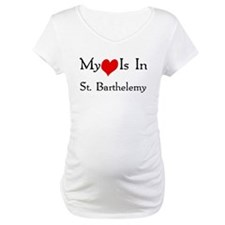 My Heart Is In St. Barthelemy Shirt
