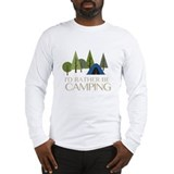 Camping Long Sleeve T-shirts