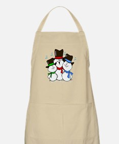 Gifts for Him 3 Singing Snowmen BBQ Apron