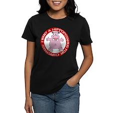 Hippo for Christmas Tee