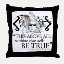 Hamlet III Throw Pillow