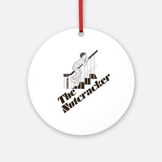 The Real Nutcracker Ornament (Round)