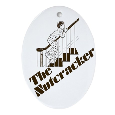 The Real Nutcracker Oval Ornament