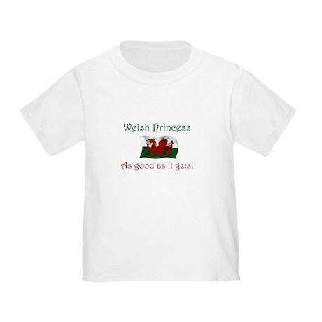 Welsh Princess Toddler T-Shirt