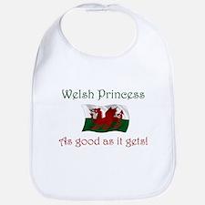 Welsh Princess Bib