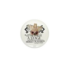 As You Like It II Mini Button (10 pack)