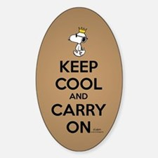 Snoopy - Keep Cool Decal