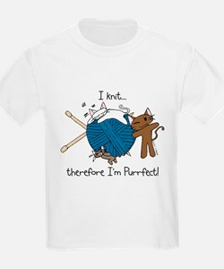 I knit...purrfect T-Shirt