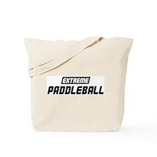 Extreme Paddleball Tote Bag