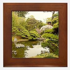 Japanese Gardens - San Francisco Framed Tile