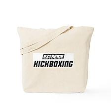 Extreme Kickboxing Tote Bag