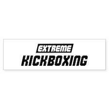Extreme Kickboxing Bumper Bumper Sticker