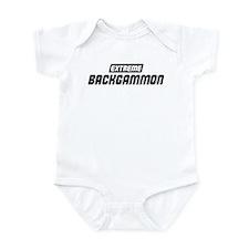 Extreme Backgammon Infant Bodysuit