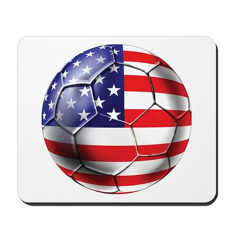 U.S. Soccer Ball Mousepad
