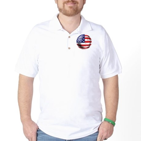 U.S. Soccer Ball Golf Shirt