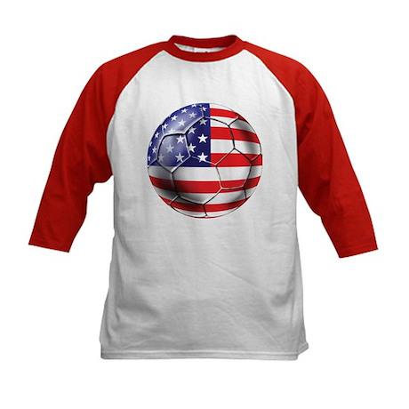 U.S. Soccer Ball Kids Baseball Jersey