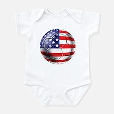 U.S. Soccer Ball Infant Bodysuit