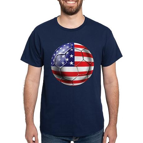 U.S. Soccer Ball Dark T-Shirt