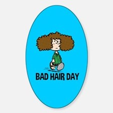 Peppermint Patty Bad Hair Day Decal