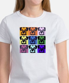 Border Terrier Pop Art Women's T-Shirt