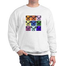 Border Terrier Pop Art Sweatshirt