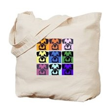 Border Terrier Pop Art Tote Bag
