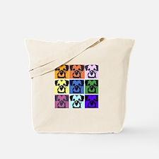 Border Terrier Pop Art Tote Bag
