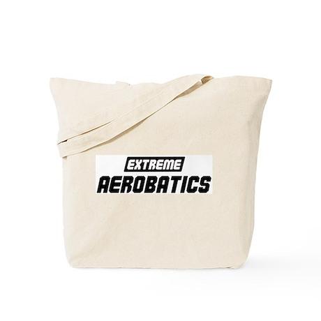 Extreme Aerobatics Tote Bag
