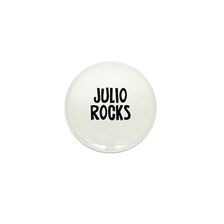 Julio Rocks Mini Button
