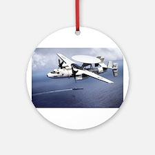 AWACS: E2C Round Ornament