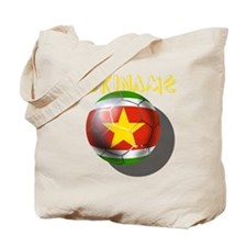 Suriname Soccer Tote Bag