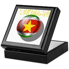 Suriname Soccer Keepsake Box