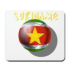 Suriname Soccer Mousepad