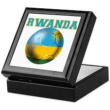 Rwanda Football Keepsake Box