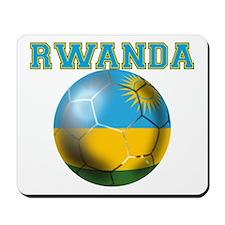 Rwanda Football Mousepad