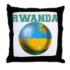 Rwanda Football Throw Pillow