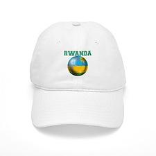 Rwanda Football Baseball Cap