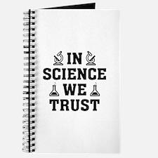 In Science We Trust Journal