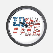 Final Five Rio 2016 Wall Clock