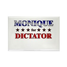 MONIQUE for dictator Rectangle Magnet