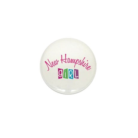 NEW HAMPSHIRE GIRL! Mini Button (100 pack)