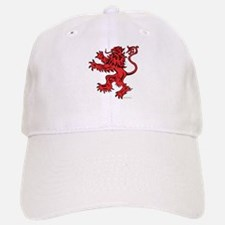 Lion Red Black Baseball Baseball Cap