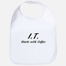I.T. Starts with coffee Bib