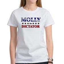 MOLLY for dictator Tee