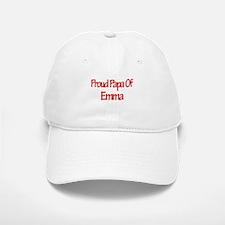 Proud Papa of Emma Baseball Baseball Cap